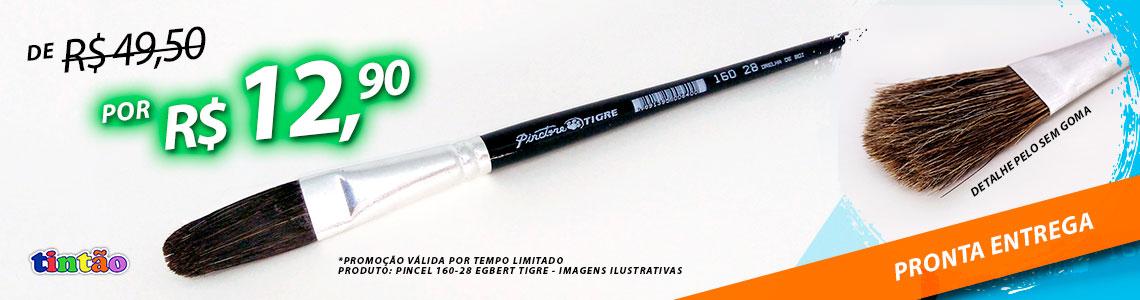 Promoção Pincel formato Egbert Orelha de Boi