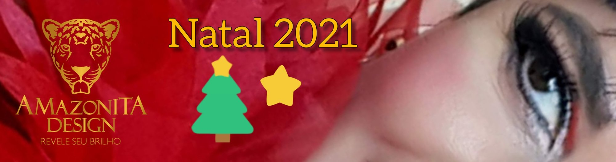 Feliz Natal na Amazonita Design