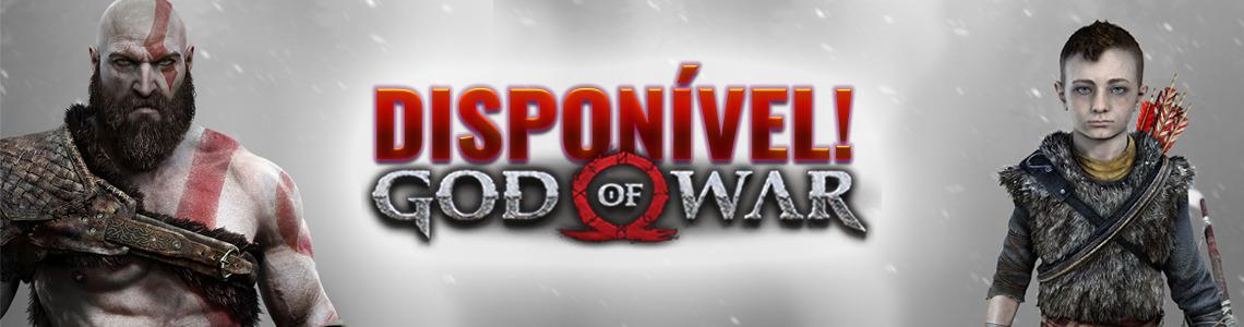GOD OF WAR DISPONIVEL
