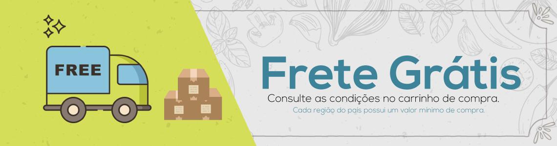 Banner Alerta Frete Grátis - Panela Mix