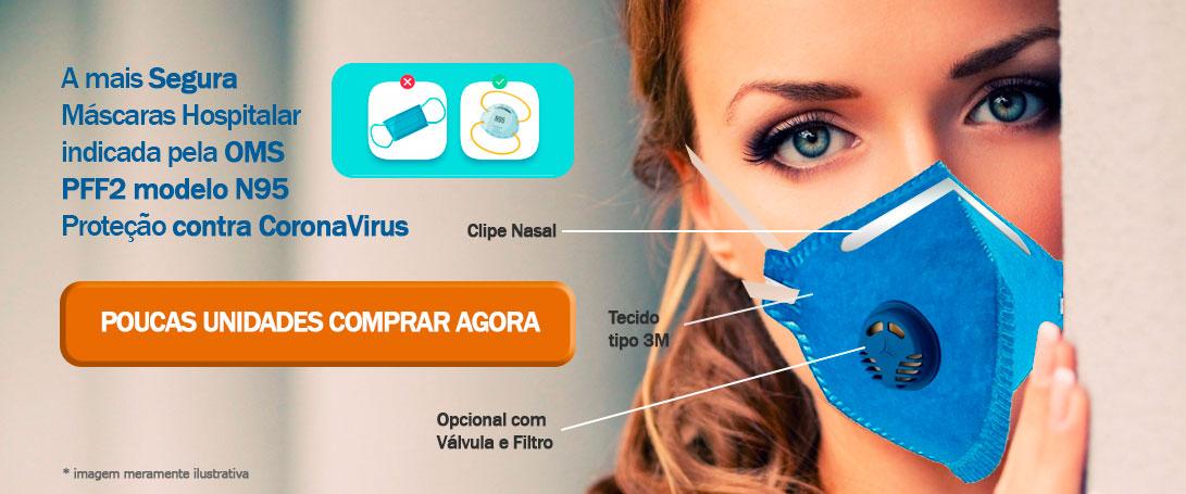 Mascara n95 Coronavirus