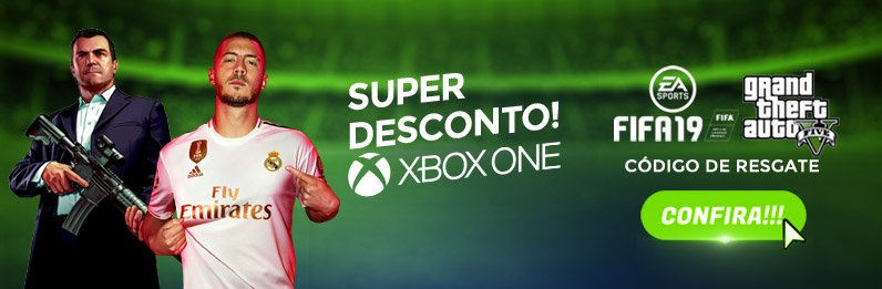 FIFA E GTA xbox one