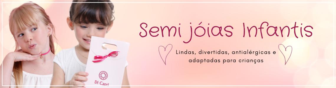 Semi jóias infantis