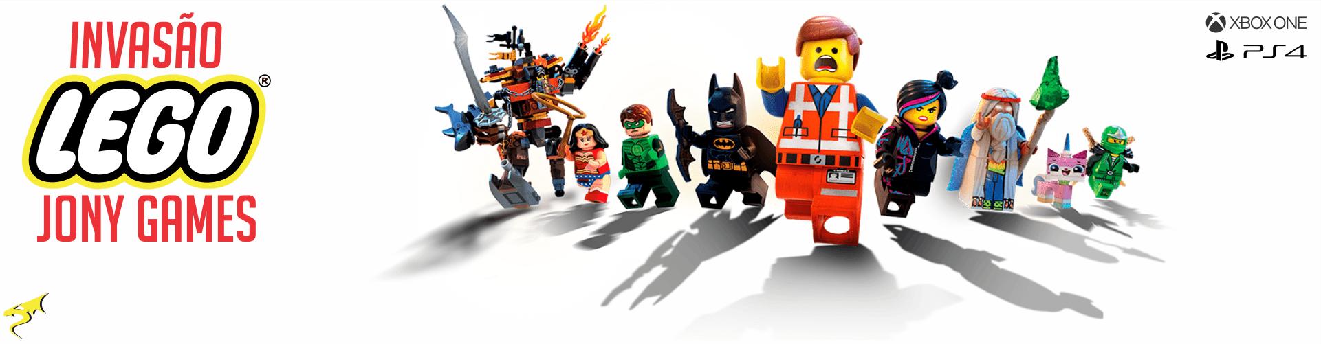 Invasão Lego Jony Games