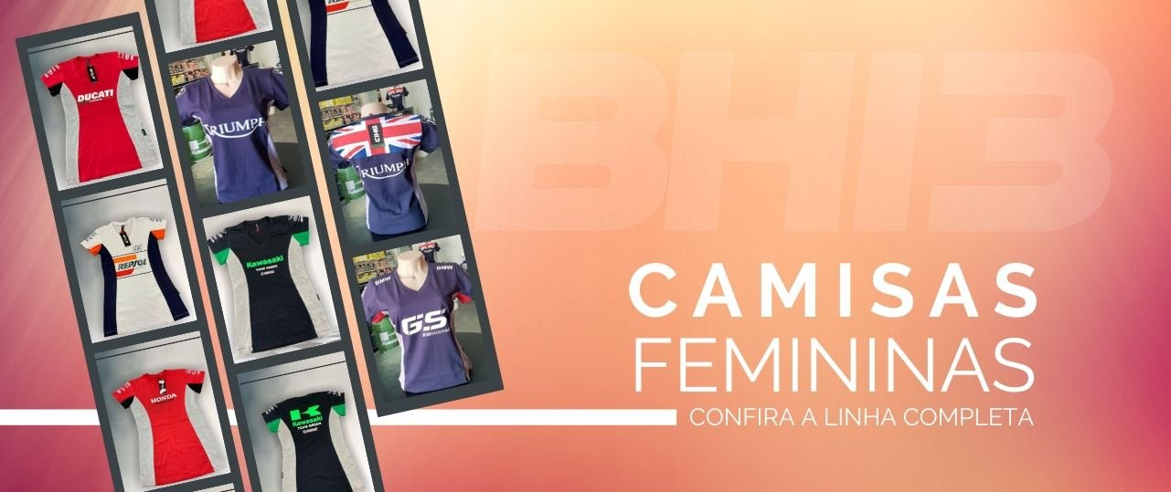 Camisas BH13 Femininas