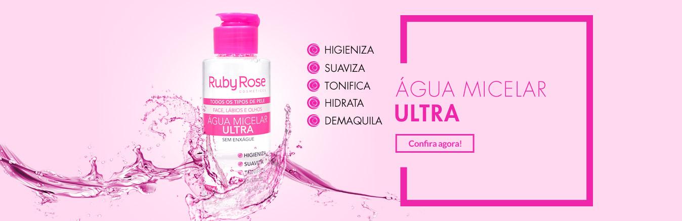 Água Micelar Ultra - Ruby Rose