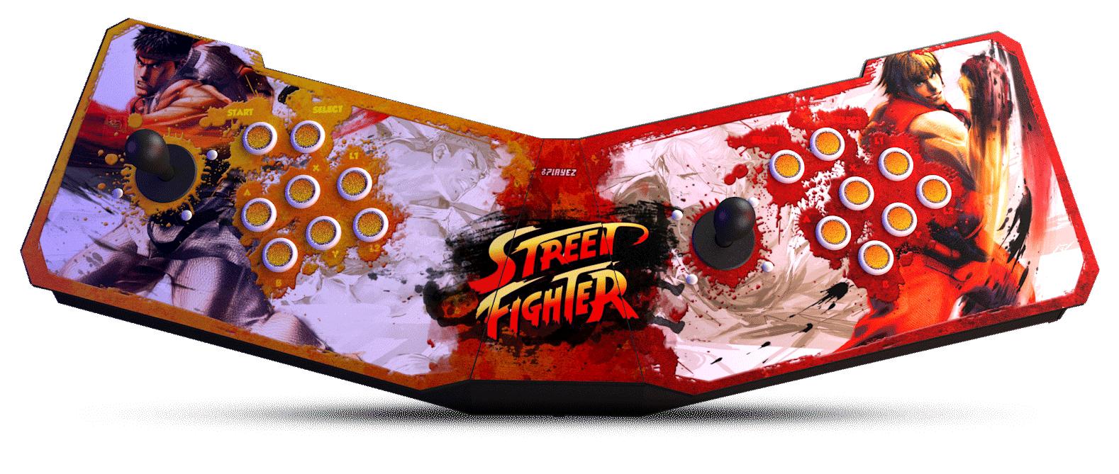 banner street fighter