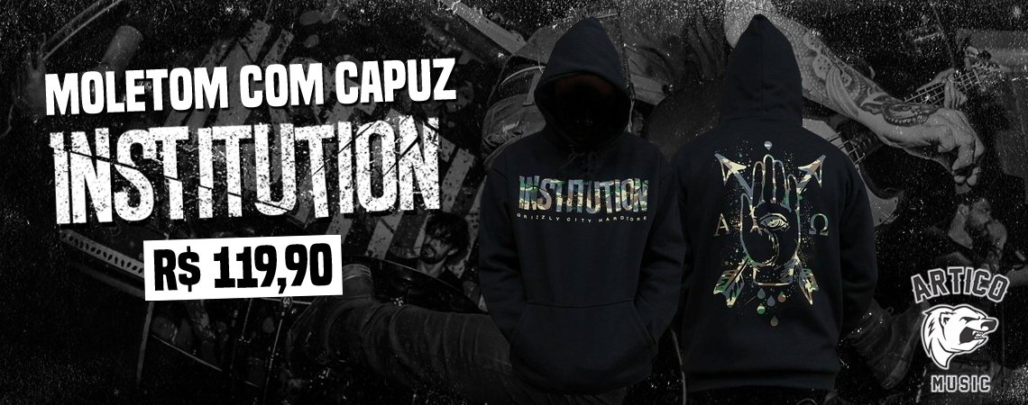 Moletom Institution Estampa Camuflada