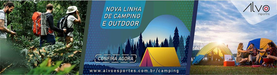 Linha camping e outdoor