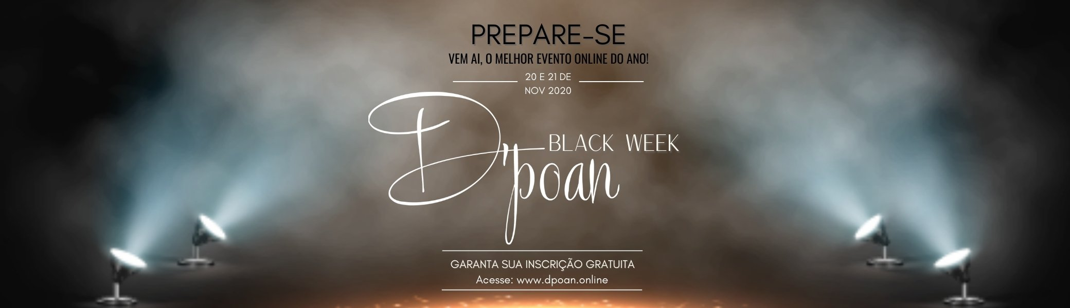 Black Week D'poan 2020