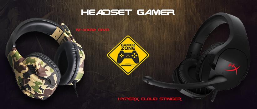 Banner Headset Gamer