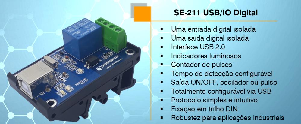 Módulo USB SE-211