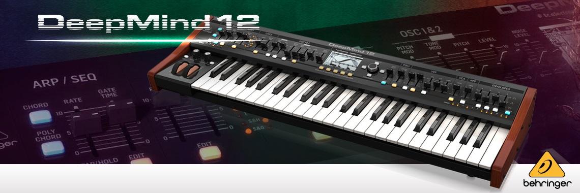 Teclado Sintetizador Behringer Deepmind12