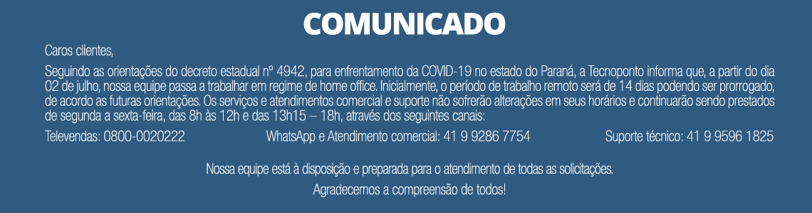 Comunicado Home Office