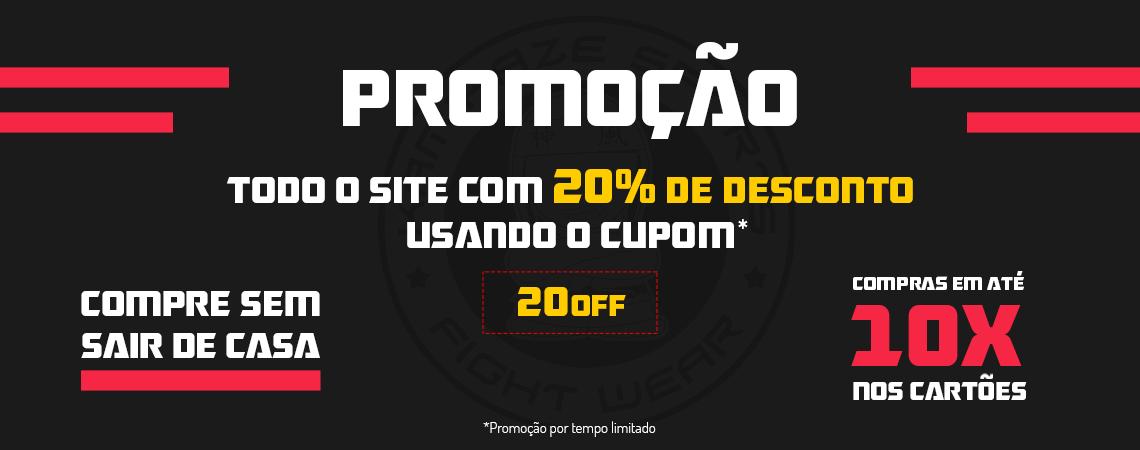 Promoção 20%off covid-19