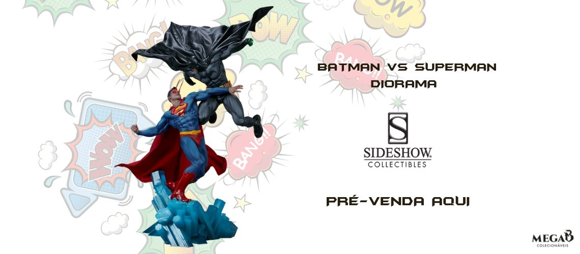 Batman VS Superman dioraman ss