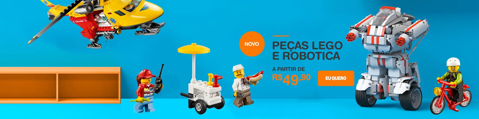 Lego Lotes Balde de Peças em Curitiba