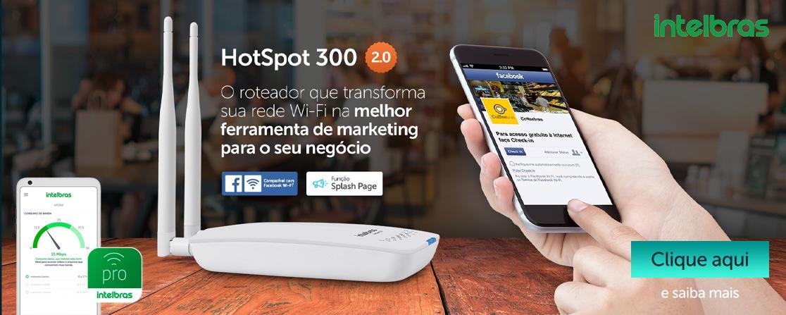 Hotspot 2.0 Intelbras