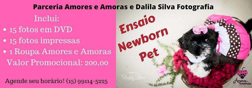 Ensaio Newborn Pet