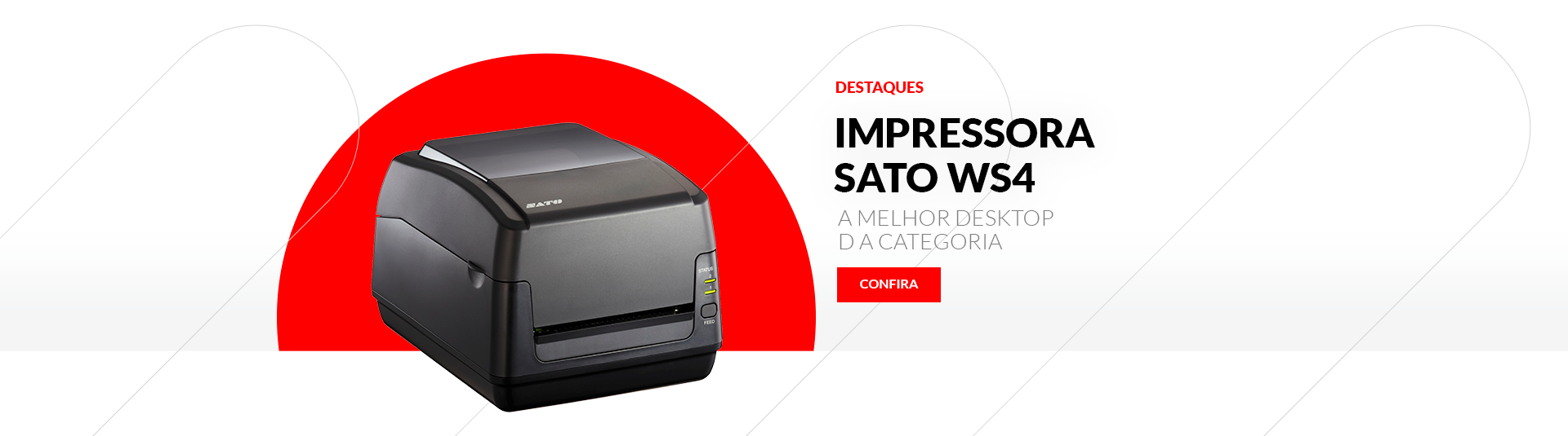 Impressora Sato WS4
