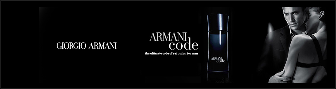 Banner Armani Code