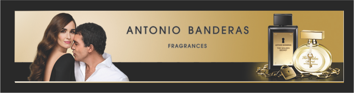 Banner Antonio Banderas Secret