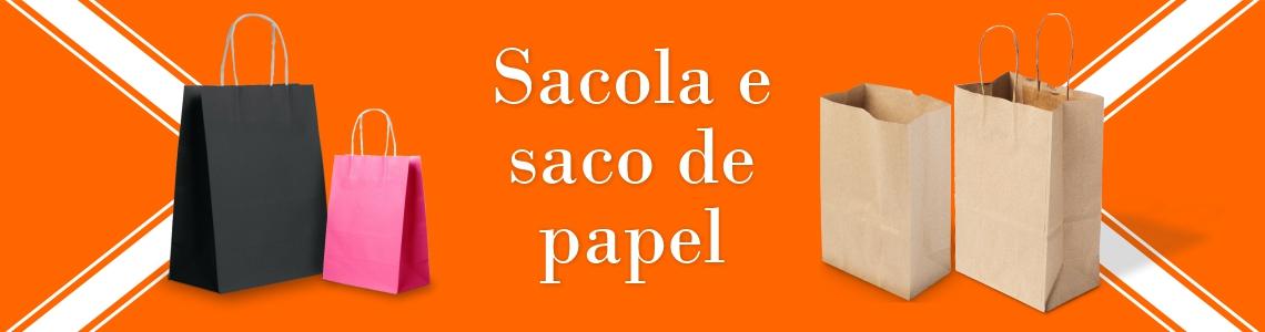 Sacolas e sacos de papel