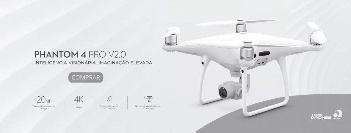 Phantom 4 Pro V2.0 - Tecno Drones