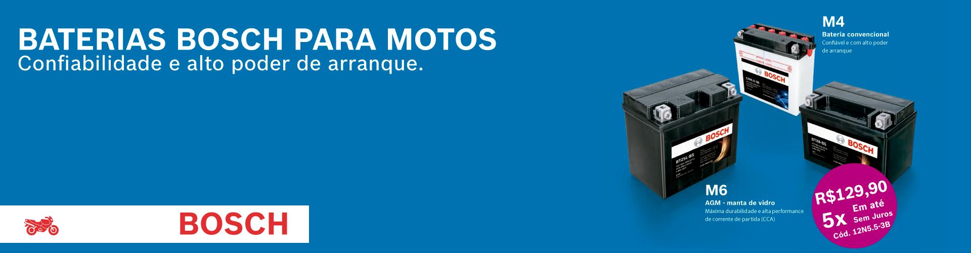 Banner Bosch Motos