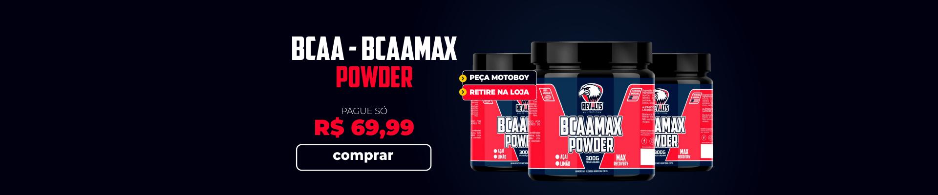 BCAA - BCAAMAX POWDER 300G - REVOLTS NUTRITION