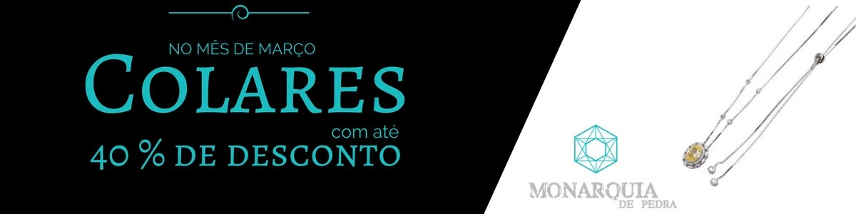 Promoção Março_Colares