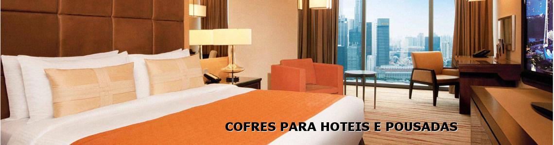 Cofres para hotéis e pousadas