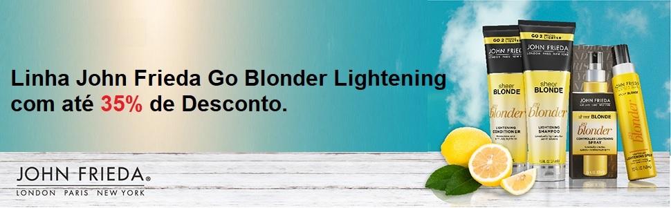 JF Go Blond Produtos