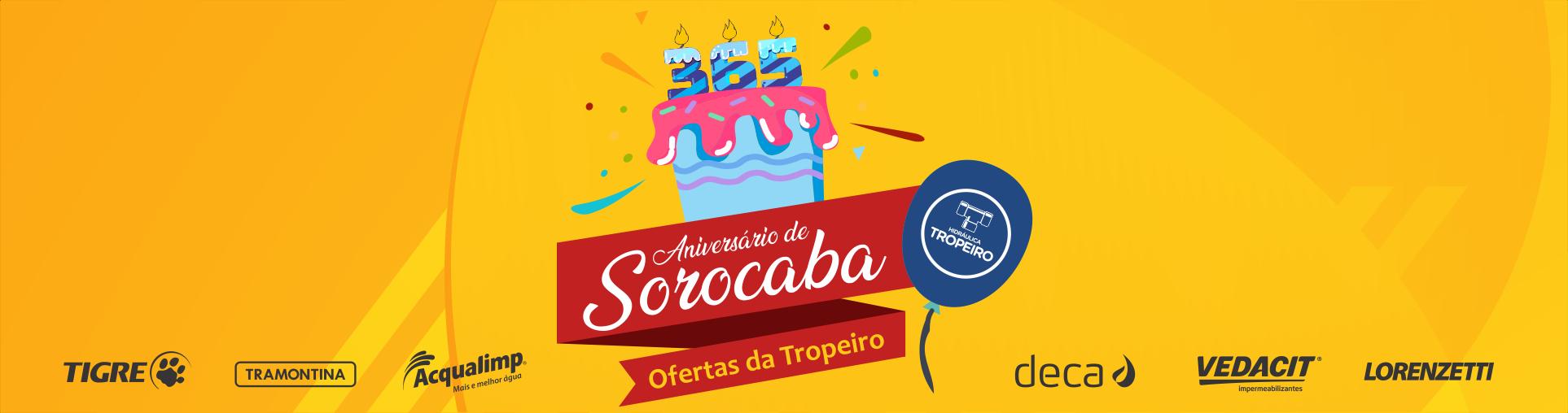Aniversário Sorocaba