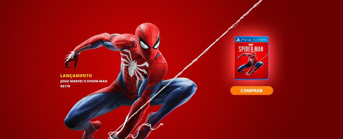 Jogo Marvel's Spider-Man PS4
