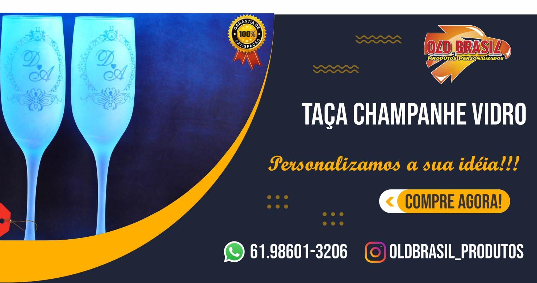 Taça Champanhe Imperatriz -FOSCA