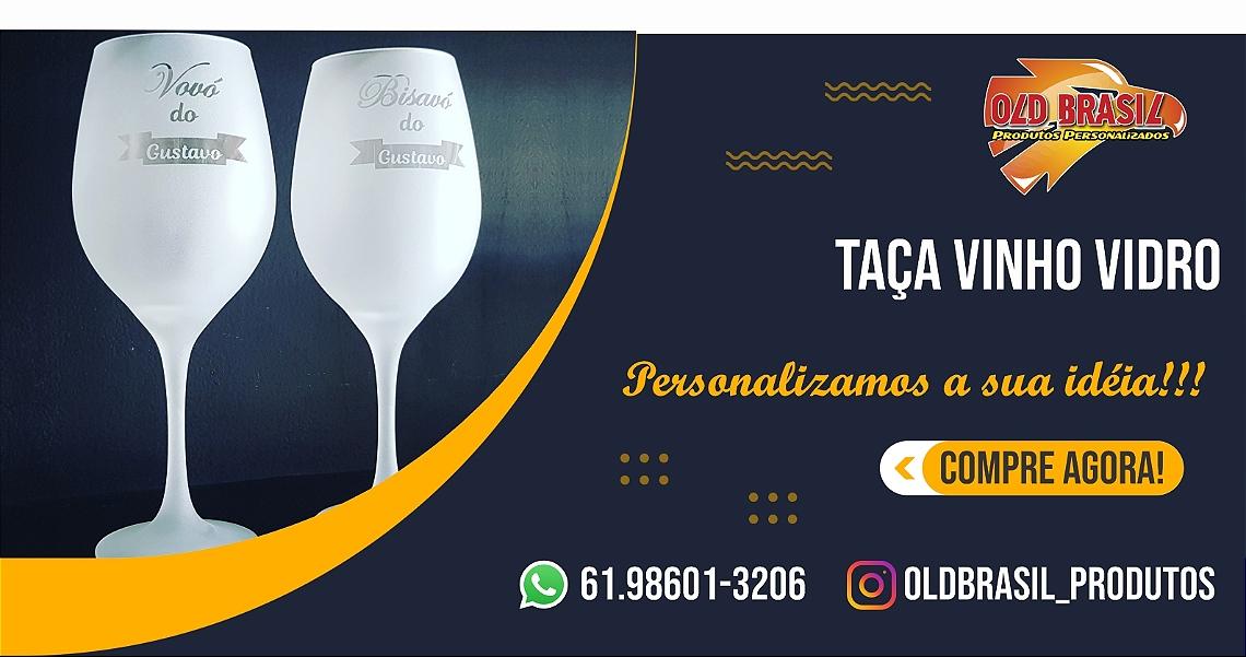 Taça Vinho Vidro - FOSCA