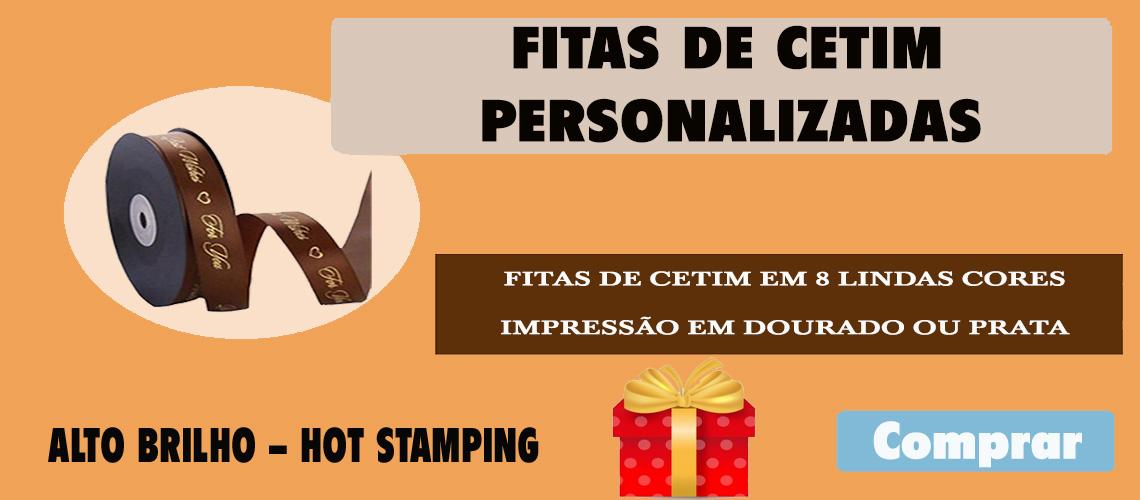 FITA DE CETIM PERSONALIZADA