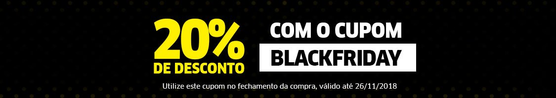 Cupom Black Friday 2018