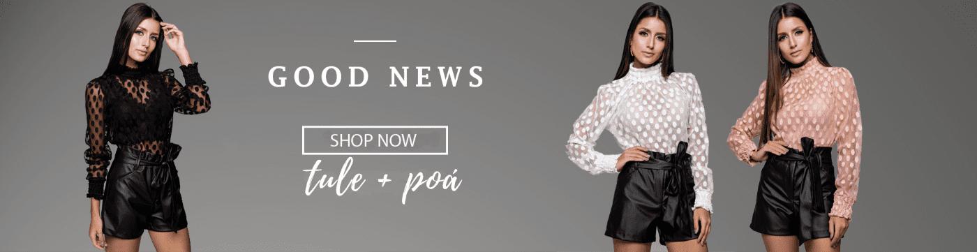 good news - roupas tule