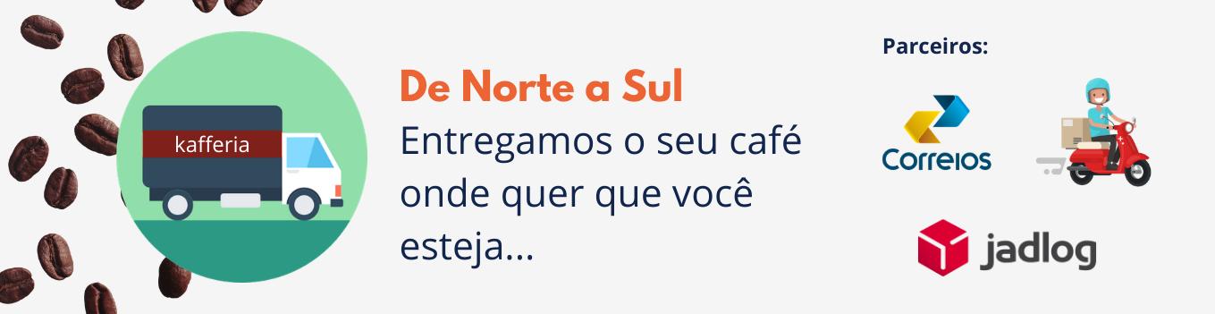Entregas em todo o Brasil