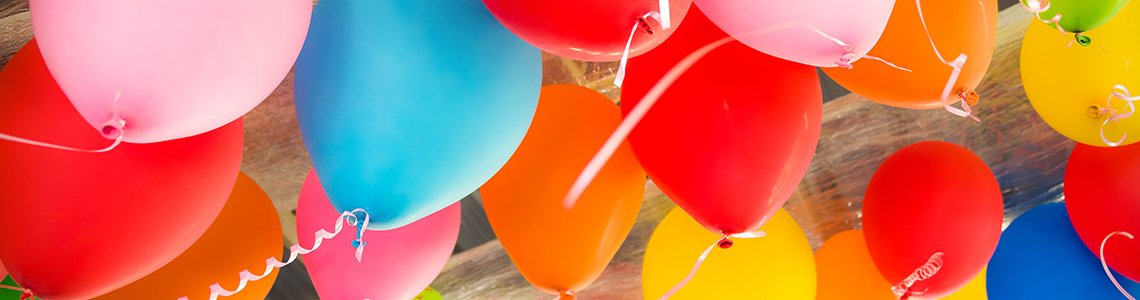 Balões de Látex