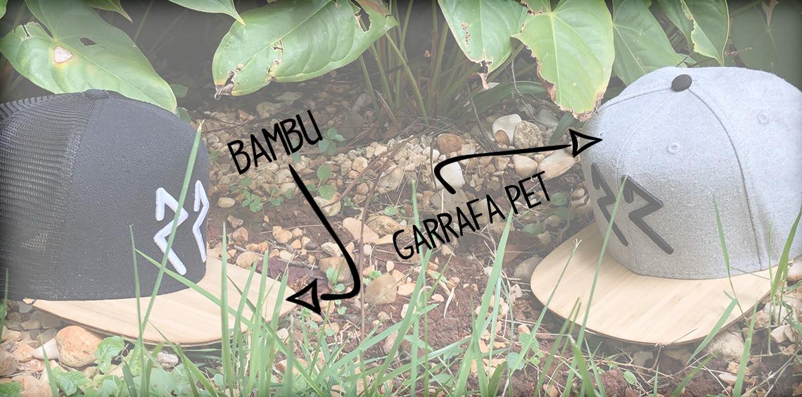 Boné Bambu e Pet