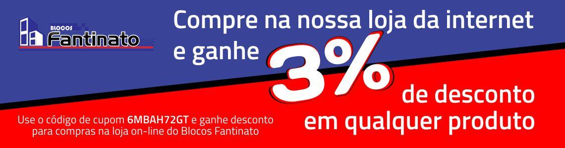DESCONTO 3%