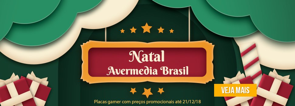 Natal AVerMedia 2018