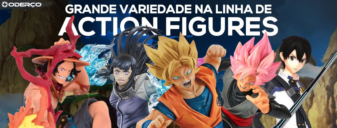 Oderço Action figures