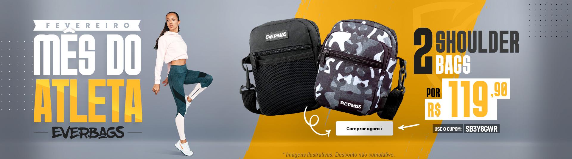 Fevereiro Mês do Atleta | Shoulder Bag