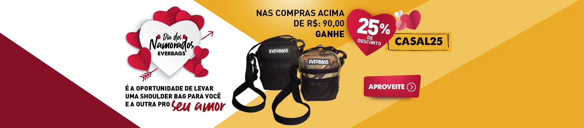 Dia dos namorados - SHOULDER BAG