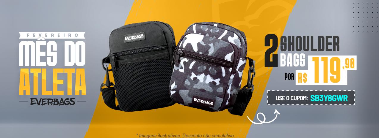 Fevereiro Mês do Atleta   Categoria   Shoulder Bag