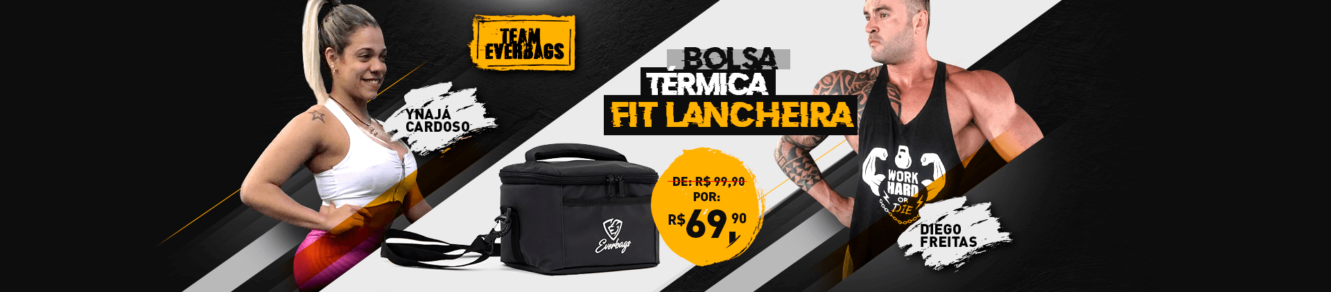 Bolsa Térmica Fit Lancheira Everbags